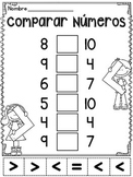 Comparar números (Comparando números)