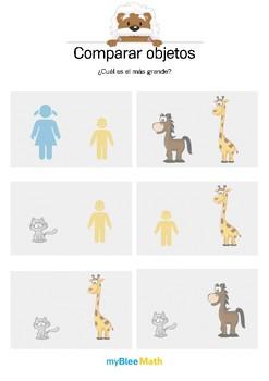 Comparar objetos 1 - ¿Cuál est el más grande?