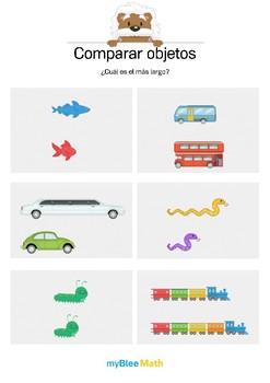 Comparar objetos 3 - ¿Cuál es el más largo?