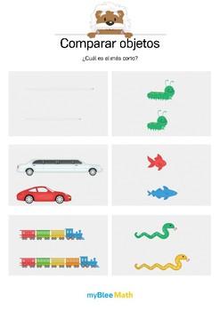 Comparar objetos 4 - ¿Cuál es el más corto?