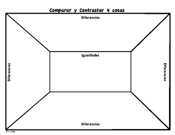 Comparar y Contrastar 4 Cosas