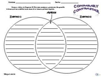 Comparar y Contrastar Actividades