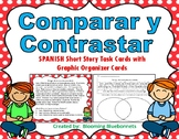 Comparar y Contrastar / Compare and Contrast SPANISH Task Cards