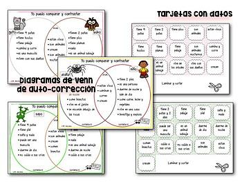Comparar y contrastar en otoño  - Diagramas de Venn en acción