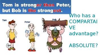 Comparative & Absolute Advantage