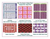 Comparative Adjectives 6 Board Game Bundle