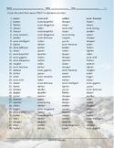Comparative Adjectives Alphabetical Order Worksheet