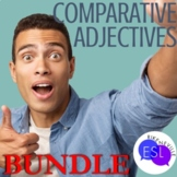Comparative Adjectives BUNDLE for ESL and Secondary