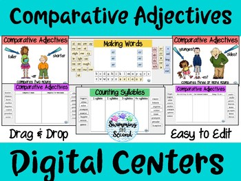 Comparative Adjectives Digital Centers
