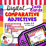 Comparative Adjectives Digital Task Cards