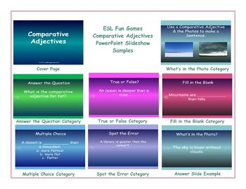 Comparative Adjectives PowerPoint Slideshow