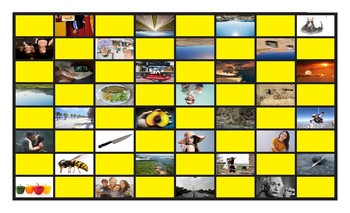 Comparative Adjectives Spanish Legal Size Photo Checkers Game