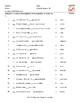 Comparative Adjectives Spanish Matching Exam
