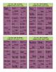 Comparative Adjectives Tic-Tac-Toe or Bingo