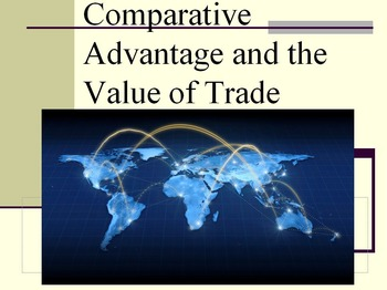 Comparative Advantage and Trade Lesson Plan: Powerpoint an