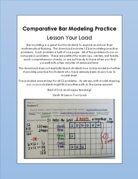 Comparative Bar Modeling Practice