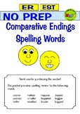 Comparative Endings - Spelling