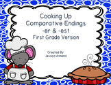 Comparative Endings -er and est: Adjectives that Compare -