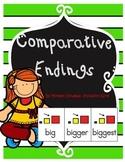 Comparative  Endings-  er est go fish game