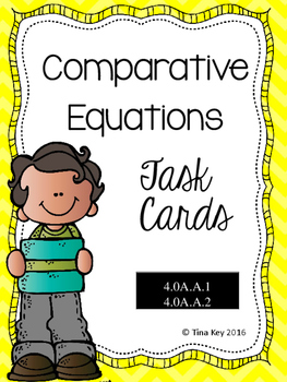 Comparative Equations Task Cards