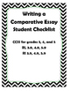 Comparative Essay Checklist