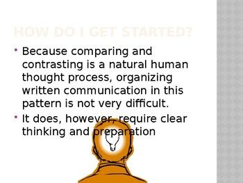 Comparative Essay Lesson