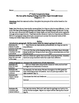 Comparative Essay Outline