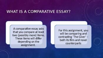 Comparative Essay Skills