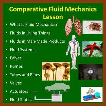 Comparative Fluid Mechanics - PowerPoint Lesson and Student Notes