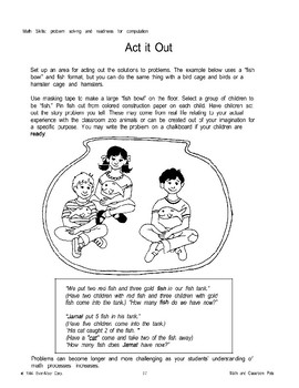 Comparative Language and Other Math Activities
