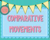 Comparative Movements {Dance Assessment}
