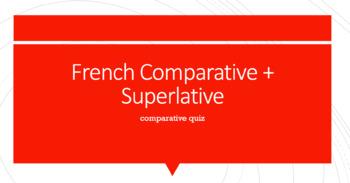 Comparative Quiz