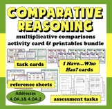 Comparative Reasoning: multiplicative vs. additive comparisons resource bundle