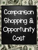 Comparison Shopping and Opportunity Cost Activity Sheet