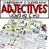Comparative Adjectives with Suffixes er and est
