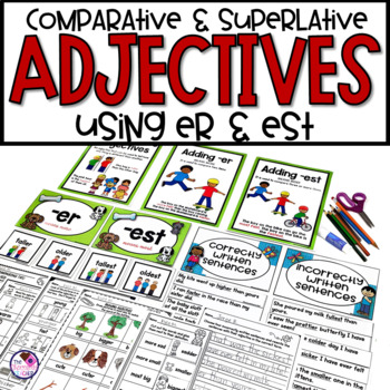 Comparative Adjectives with Suffixes -er and -est