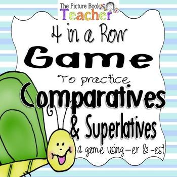 Comparative & Superlative - 4 in a Row