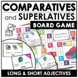 Adjectives : Comparative & Superlative Sentence Board Game