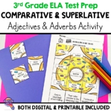 Comparative & Superlative Adjectives & Adverbs Secret Pictures Distance Learning
