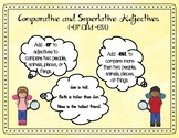 Comparative & Superlative Adjectives (Journey's Gloria Who Might Be...)