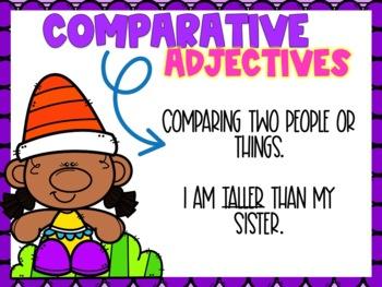 Comparative & Superlative Adjectives Power Point