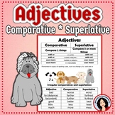 Adjectives Comparative Superlative Activity and a Set of T