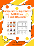 Comparative / Superlative Fall Edition