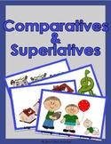 Comparative & Superlative Form Flashcards & Worksheets