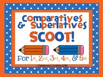 er & est Comparative & Superlative Scoot Adding -er & -est