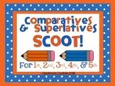 er & est Comparative & Superlative Scoot Adding -er & -est