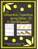 Comparative/Superlative - Spring Edition