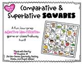 Comparative & Superlative Squares- Low-Prep Game for Adjec