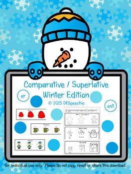 Comparative / Superlative Winter Edition