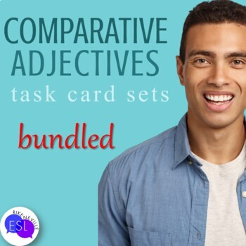 Comparative Adjectives (Task Cards)